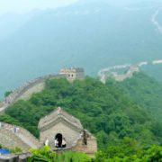 La gran muralla china.