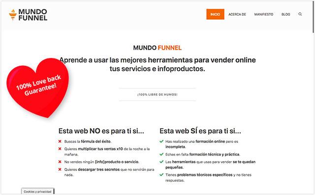 Mundo Funnel - Herramientas para vender online