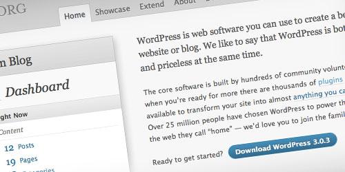 Actualización wordpress 3.0.3 disponible
