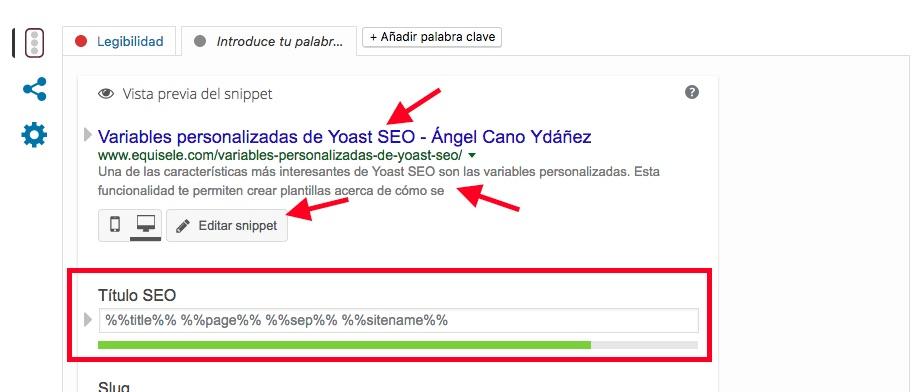 Crear tus propias variables personalizadas yoast seo