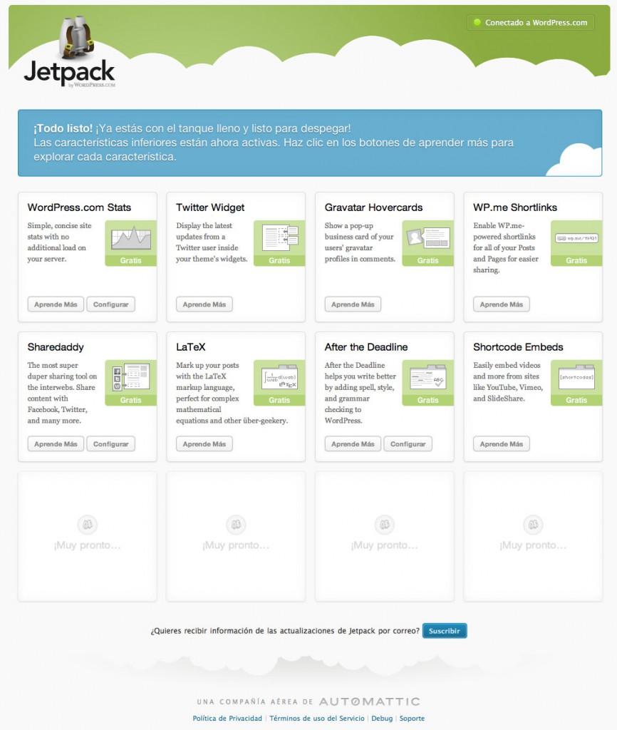 wordpress jetpack plugins